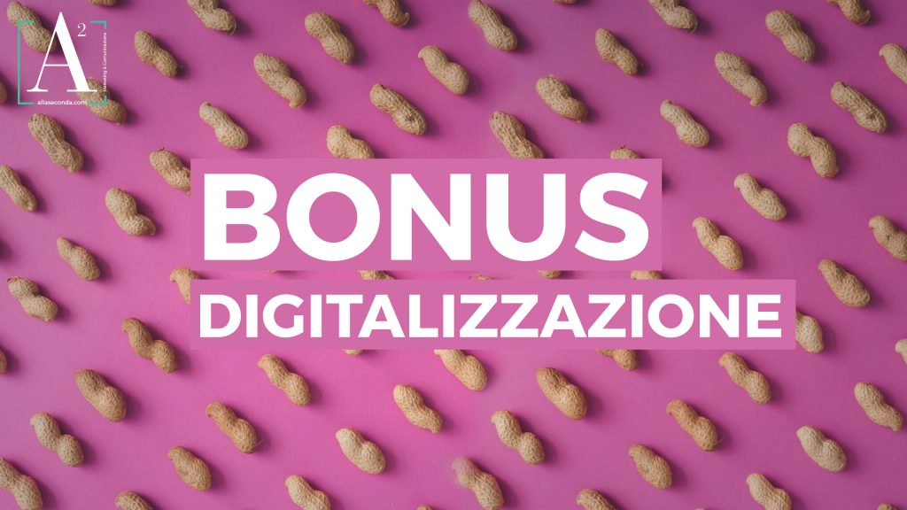 bonus digitalizzazione